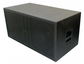 """Caixa Acústica Passiva Sub Woofer Fal Oversound - 2x 18"""" 1600W"""