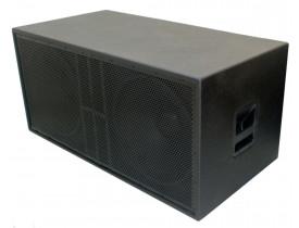 """Caixa Acústica Ativa SubWoofer 2x 18"""" 1000W SW218.1000A Dupla"""