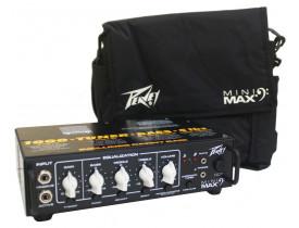 Amplificador Cabeçote Para Contrabaixo Peavey Mini Max 1000w promoção