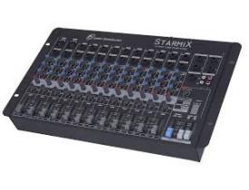 Mesa De Som Mixer 16 Canais Starmix S1602