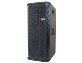 "Caixa Acustica Ativa 2x 8"" 700W LV8.700A+ (Ampli 1400w)"