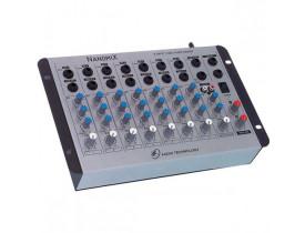 Mesa De Som Mixer 8 Canais Nanomix Na802r  PROMOÇÃO