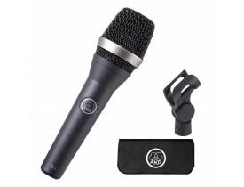 Microfone AKG D5 Vocal Supercardióide Dinâmico com Estojo Harman
