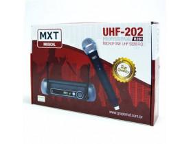 Microfone Sem Fio MXT UHF-202
