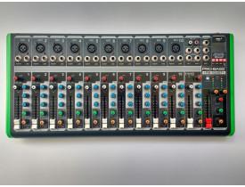 Mesa De Som Pro Bass Pm-1624Bt Usb 12 Canais, efeitos, Bluetooth