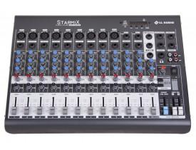 Mesa De Som Mixer 12 Canais Starmix XMS 1202d USB Bluetooth