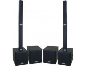 "Kit Ativo Line Vertical (24x 3/4""+ti + Sub 18"") VL 7000w 8 caixas TOP"
